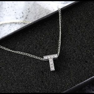 Jewelry - Initial Capital Letter T Necklace